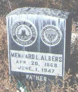 ALBERS, MENHARD L. - Bernalillo County, New Mexico | MENHARD L. ALBERS - New Mexico Gravestone Photos