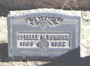 BOWDICH, ESTELLE M. - Bernalillo County, New Mexico | ESTELLE M. BOWDICH - New Mexico Gravestone Photos