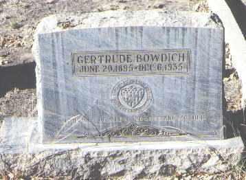 BOWDICH, GERTRUDE - Bernalillo County, New Mexico | GERTRUDE BOWDICH - New Mexico Gravestone Photos