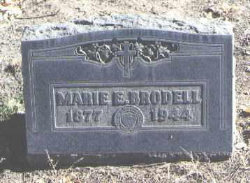BRODELL, MARIE E. - Bernalillo County, New Mexico   MARIE E. BRODELL - New Mexico Gravestone Photos