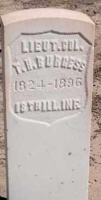 BURGESS, THOMAS H. - Bernalillo County, New Mexico | THOMAS H. BURGESS - New Mexico Gravestone Photos