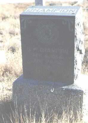 CHAMPION, G. W. - Bernalillo County, New Mexico | G. W. CHAMPION - New Mexico Gravestone Photos
