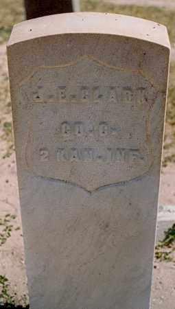 CLARK, J. E. - Bernalillo County, New Mexico | J. E. CLARK - New Mexico Gravestone Photos