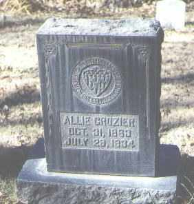 CROZIER, ALLIE - Bernalillo County, New Mexico | ALLIE CROZIER - New Mexico Gravestone Photos