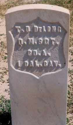 DELONG, T. D. - Bernalillo County, New Mexico | T. D. DELONG - New Mexico Gravestone Photos