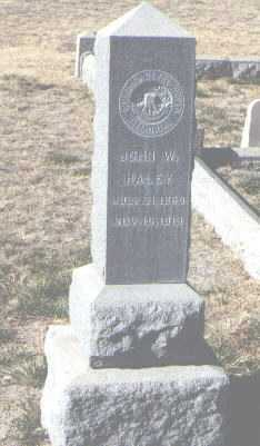 HALEY, JOHN W. - Bernalillo County, New Mexico | JOHN W. HALEY - New Mexico Gravestone Photos
