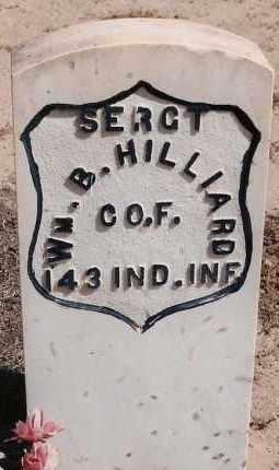 HILLIARD, WILLIAM B. - Bernalillo County, New Mexico | WILLIAM B. HILLIARD - New Mexico Gravestone Photos