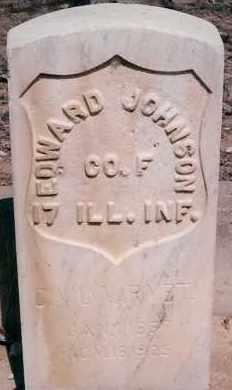 JOHNSON, EDWARD - Bernalillo County, New Mexico | EDWARD JOHNSON - New Mexico Gravestone Photos
