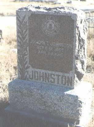 JOHNSTON, JOSEPH T. - Bernalillo County, New Mexico | JOSEPH T. JOHNSTON - New Mexico Gravestone Photos