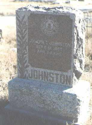 JOHNSTON, JOSEPH T. - Bernalillo County, New Mexico | JOSEPH T. JOHNSTON - New Mexico Gravestone Photos