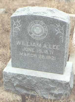 LEE, WILLIAM A. - Bernalillo County, New Mexico | WILLIAM A. LEE - New Mexico Gravestone Photos