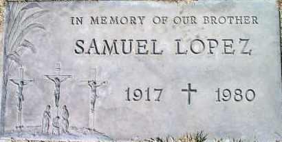 LOPEZ, SAMUEL - Bernalillo County, New Mexico   SAMUEL LOPEZ - New Mexico Gravestone Photos