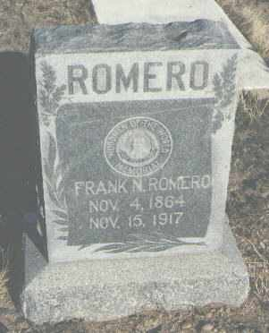ROMERO, FRANK A. - Bernalillo County, New Mexico | FRANK A. ROMERO - New Mexico Gravestone Photos