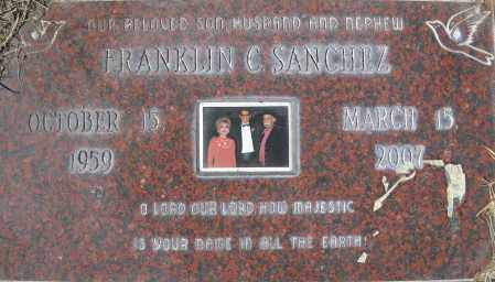 SANCHEZ, FRANKLIN C. - Bernalillo County, New Mexico | FRANKLIN C. SANCHEZ - New Mexico Gravestone Photos
