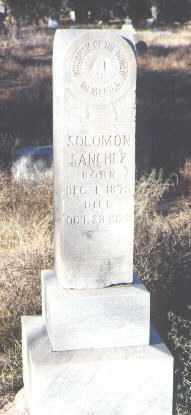 SANCHEZ, SOLOMON - Bernalillo County, New Mexico | SOLOMON SANCHEZ - New Mexico Gravestone Photos