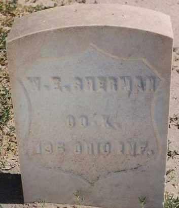 SHERMAN, WILLIAM E. - Bernalillo County, New Mexico | WILLIAM E. SHERMAN - New Mexico Gravestone Photos
