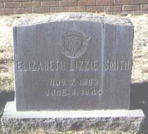 SMITH, ELIZABETH LIZZIE - Bernalillo County, New Mexico | ELIZABETH LIZZIE SMITH - New Mexico Gravestone Photos