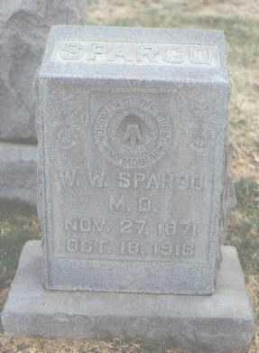 SPARGO, M.D., W. W. - Bernalillo County, New Mexico | W. W. SPARGO, M.D. - New Mexico Gravestone Photos