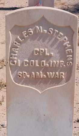 STEPHENS, CHARLES N. - Bernalillo County, New Mexico | CHARLES N. STEPHENS - New Mexico Gravestone Photos