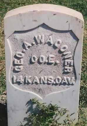 WAGONER, GEORGE A. - Bernalillo County, New Mexico | GEORGE A. WAGONER - New Mexico Gravestone Photos