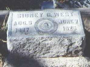 WEST, SIDNEY G. - Bernalillo County, New Mexico | SIDNEY G. WEST - New Mexico Gravestone Photos