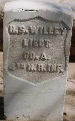 WILLEY, HENRY S. - Bernalillo County, New Mexico | HENRY S. WILLEY - New Mexico Gravestone Photos
