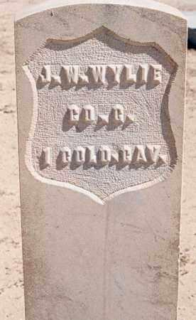 WYLIE, J. W. - Bernalillo County, New Mexico | J. W. WYLIE - New Mexico Gravestone Photos