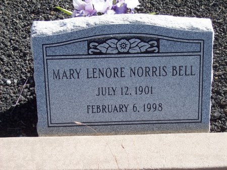 BELL, MARY LENORE - Catron County, New Mexico | MARY LENORE BELL - New Mexico Gravestone Photos