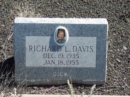 DAVIS, RICHARD L. - Catron County, New Mexico | RICHARD L. DAVIS - New Mexico Gravestone Photos