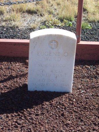 WARD (VETERAN WWI), EUGENE O. - Catron County, New Mexico   EUGENE O. WARD (VETERAN WWI) - New Mexico Gravestone Photos