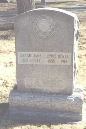 DABBS, LEWIS HOYLE - Chaves County, New Mexico | LEWIS HOYLE DABBS - New Mexico Gravestone Photos