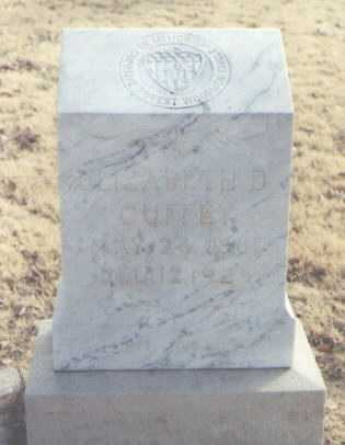 GUFFEY, ELIZABETH D. - Chaves County, New Mexico | ELIZABETH D. GUFFEY - New Mexico Gravestone Photos