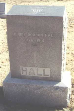 HALL, JENNIE DODSON - Chaves County, New Mexico | JENNIE DODSON HALL - New Mexico Gravestone Photos
