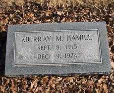 HAMILL, MURRAY M - Chaves County, New Mexico | MURRAY M HAMILL - New Mexico Gravestone Photos