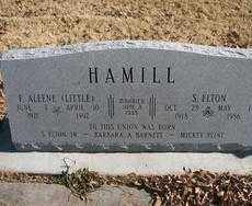 HAMILL, F. ALEENE - Chaves County, New Mexico | F. ALEENE HAMILL - New Mexico Gravestone Photos