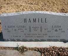 HAMILL, F. ALEENE - Chaves County, New Mexico | F. ALEENE HAMILL - New Mexico Gravestone Photos