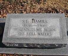 HAMILL, SAMUEL EUGENE - Chaves County, New Mexico | SAMUEL EUGENE HAMILL - New Mexico Gravestone Photos
