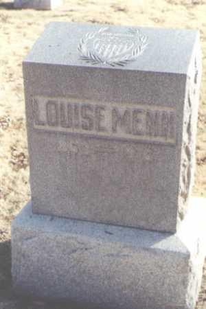 MENN, LOUISE - Chaves County, New Mexico | LOUISE MENN - New Mexico Gravestone Photos