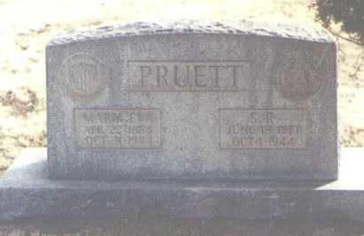 PRUETT, MARY EVA - Chaves County, New Mexico | MARY EVA PRUETT - New Mexico Gravestone Photos