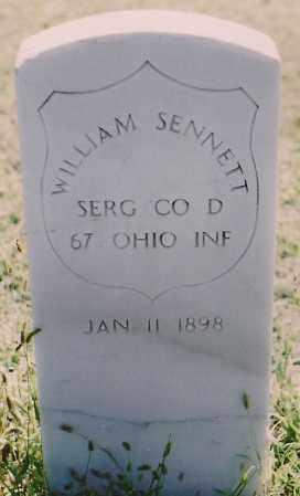 SENNETT, WILLIAM - Chaves County, New Mexico | WILLIAM SENNETT - New Mexico Gravestone Photos