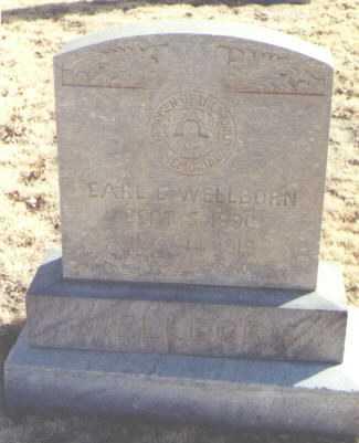 WELLBORN, EARL E. - Chaves County, New Mexico | EARL E. WELLBORN - New Mexico Gravestone Photos