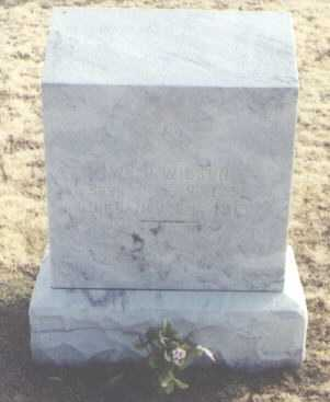 WILSON, WILLIAM J. - Chaves County, New Mexico | WILLIAM J. WILSON - New Mexico Gravestone Photos