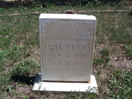 TIETJEN, ALMA - Cibola County, New Mexico   ALMA TIETJEN - New Mexico Gravestone Photos