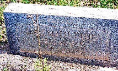 TIETJEN, ERNST ALBERT - Cibola County, New Mexico | ERNST ALBERT TIETJEN - New Mexico Gravestone Photos