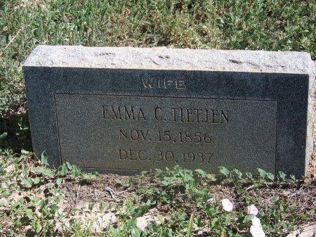 TIETJEN, EMMA C. - Cibola County, New Mexico   EMMA C. TIETJEN - New Mexico Gravestone Photos