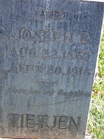 TIETJEN, JOSEPH ENGEBERT - Cibola County, New Mexico | JOSEPH ENGEBERT TIETJEN - New Mexico Gravestone Photos