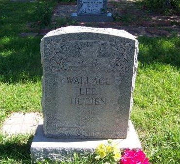 TIETJEN, WALLACE LEE - Cibola County, New Mexico   WALLACE LEE TIETJEN - New Mexico Gravestone Photos
