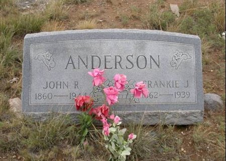 ANDERSON, FRANKIE J - Colfax County, New Mexico   FRANKIE J ANDERSON - New Mexico Gravestone Photos