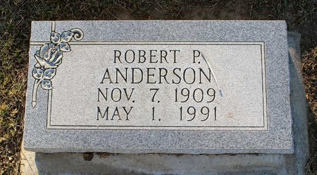 ANDERSON, ROBERT P. - Colfax County, New Mexico   ROBERT P. ANDERSON - New Mexico Gravestone Photos