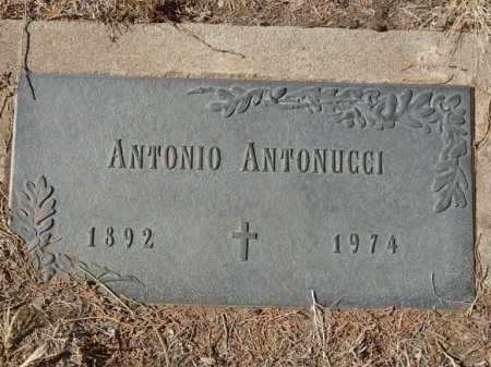ANTONUCCI, ANTONIO - Colfax County, New Mexico   ANTONIO ANTONUCCI - New Mexico Gravestone Photos